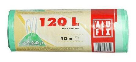Pytle na odadky, zatahovací, 120 l, 10 ks, ALUFIX