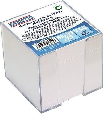 Papírové bločky v kostce 83x83x75 mm, se stojánkem, DONAU