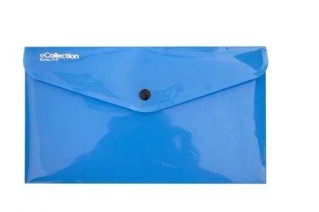 Psaníčko s drukem DL eCollection modrá