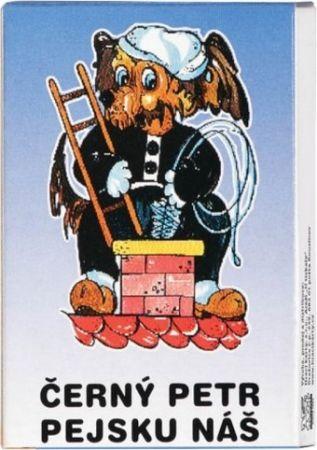 Karty Černý Petr H Pejsku náš papírová krabička