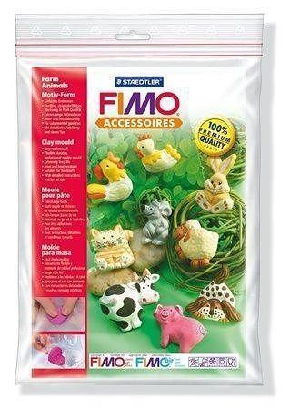 "FIMO® 8742 Silikonová forma ""Farm animals"""