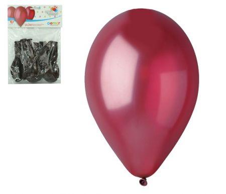 Balónky OBYČ. 10ks bordó