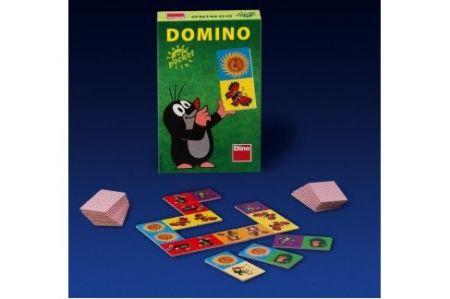 DINO-Domino s Krtečkem kapesní (cestovní verze)