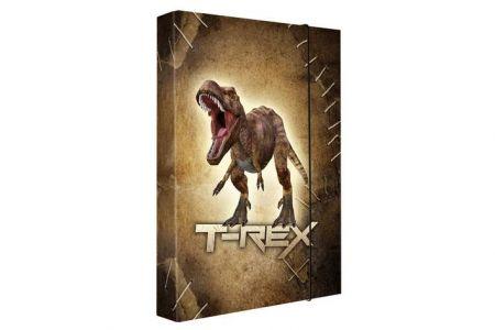 Desky na sešity (HeftBox-Heft-box) A5 T-rex (3-777) Karton P+P vzor 2013