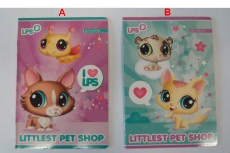 Sešit A5 16 Littlest Pet Shop LPS linka