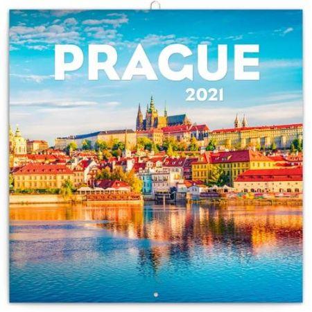 Kalendář poznámkový Praha letní 2021, 30 × 30 cm / PGP-7929