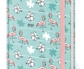 Diář týdenní A7 LYRA Flamingo 2021, 7,1 cm x 10,5 cm / L416 STIL