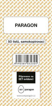 OPTYS Paragon 50 listů NCR/BEZ DPH OPTYS / Připraveno na EET