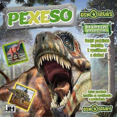 Pexeso v sešitu Dinosauři