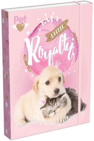 Box na sešity A5 Little Friends Pink 20766501