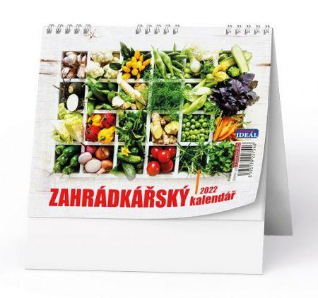 Kalendář stolní IDEÁL - Zahrádkářský kalendář 2022 / 16,5cm x 13,5cm / BSK7-22