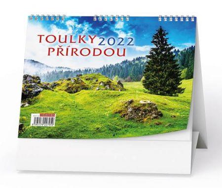 Kalendář stolní Toulky přírodou 2022 / 21cm x 15cm / BSH7-22