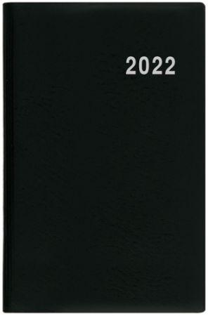 Diář týdenní - Gustav - PVC - černá 2022 / 7,5cm x 11,5cm / BTG1-2-22